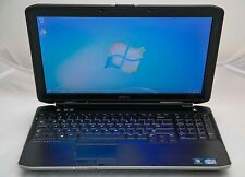 "Dell Latitude E5530 15.6"" Core i5-3210M 2.6GHz 8GB 128GB SSD Windows 7 Laptop"