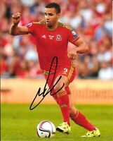 HAL ROBSON KANU WALES RED HOME KIT SIGNED 10 X 8 PHOTO - West Brom