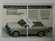 Werbeanzeige/advertisement A5: Toyota Starlet 1980 (251216126)
