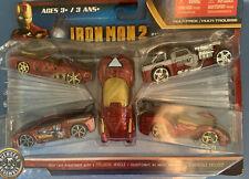 Maisto Marvel Universe 1/63 Scale Die-Cast 5 Car Collection Iron man Movie 2 MOC