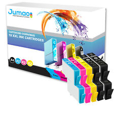 10 cartouches Jumao compatibles pour HP Photosmart e-All-in-One 7510 6520 6525