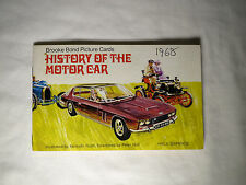 History of the Motor Car - Brooke Bond tea cards Album.