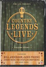 COUNTRY LEGENDS LIVE Volume 8 (DVD) Featuring Jerry Reed , Statler Brothers
