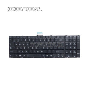 New For Toshiba Satellite C55-A5282 C55-A5285 Laptop US Keyboard Black