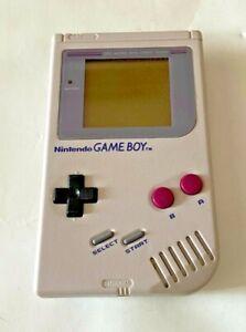 Nintendo Gameboy Original Grey Handheld Console - TESTED/WORKING - DMG-01