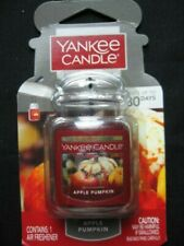 NEW Yankee Candle Apple Pumpkin Ultimate Car Jar Air Freshener