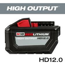 Milwaukee M18 12.0Ah 18-Volt Lithium-Ion High Output Battery 48-11-1812