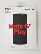 "Verizon Motorola MOTO G6 PLAY (Verizon Prepaid) 5.7"" HD Smartphone BRAND NEW"