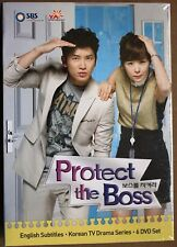 Protect the Boss (DVD, 2012, 6-Disc Set) YA Entertainment Box Set US Version NR