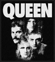 Queen ' Faces ' Woven Patch
