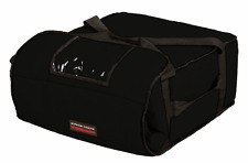 """Pizza Delivery Bags Thick insulated(Holds up to Four16"""" or Five18"""" Pizzas)Black."""