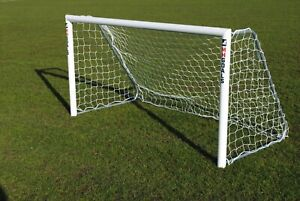 8x4ft Football Goal with fixed frames- Great for the Garden - Made by MH Goals