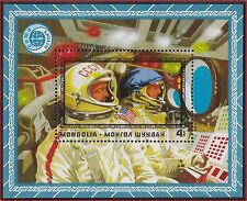 MONGOLIE BLOC N°39** Bf  Espace,TB, 1975 MONGOLIA Space SHEET MNH
