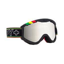 Spy Optic Targa 3 Ski Goggles One Love Bronze Silver Mirror Lens 310809651084