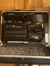 Panasonic AF X6 CCD OmniMovie VHS HQ Camcorder with carrying case amd battery