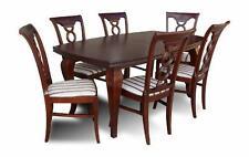 Bis-6 Tisch-& Stuhl-Sets aus Massivholz für Wohnzimmer