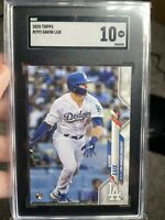 Gavin Lux 2020 Topps Baseball #292 Los Angeles Dodgers RC SGC 10 Comp to PSA