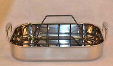 Le Creuset Stainless Steel Roasting Pan w/ Rack Set  **NEW**