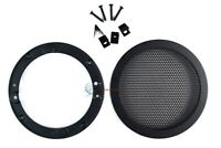 4.5 Inch Speaker Metal Mesh Grills 1 Piece DJ Car Audio with Clips and Screws