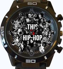 Hip Hop Music Lover New Trendy Sports Series Unisex Gift Watch