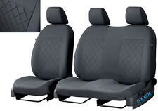 VW CRAFTER FACELIFT 2017 2018 2019 2020 FABRIC TAILORED FRONT SEAT COVERS