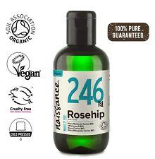 Aceite De Rosa Mosqueta Virgen BIO - 100% Puro natural vegano no OGM 50ml - 1l