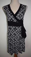 White House Black Market Wrap Dress Sleeveless Mini Small