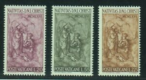 Vatican Stamps 1966 Christmas complete MNH