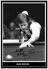 (#78) snooker legend alex higgins signed a4 photograph (reprint) great gift ####