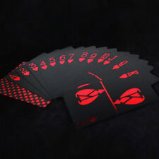 2017 Gold Plastic PVC Poker Waterproof Magic Playing Cards Table Games 55pcs