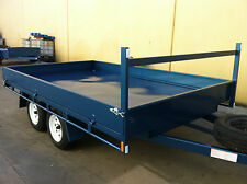 Table Top Flat bed Trailer 3.5X2090 DECK 2T+drop sides also 14 12 16ft availabl