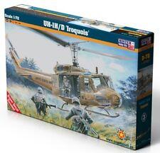 BELL UH-1 D/H IROQUOIS (GERMAN, SPANISH, VIETNAMESE & U.S. MKGS)1/72 MISTERCRAFT
