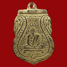 OLD COIN LP KLUN 1st Gen b.e.2469 WAT PRYAT thai buddha amulet