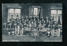 Lancashire Manchester WHITEFIELD Music BESSES O'TH BARN BAND pre1919 PPC