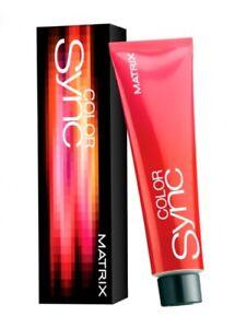 Matrix Color Sync Hair Dye Cream Ammonia-Free 90 ml 55 Shades Hair Care Woman