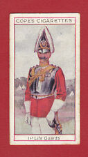 COPE BROS. & CO. LTD. - VERY RARE MILITARY CARD -  1ST  LIFE  GUARDS  -  1908
