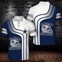 2020 Summer Dallas Cowboys T-shirt Hip-Hop Rap performance Tops Gifts for Fans