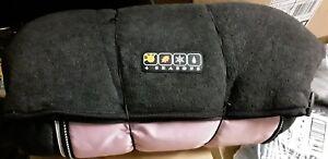 Valco Baby 4 Seasons Footmuff Sleeping Bag, Black/PINK, BRAND NEW