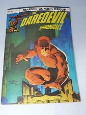 DAREDEVIL - THE DAREDEVIL CHRONICLES 1982 - FRANK MILLER
