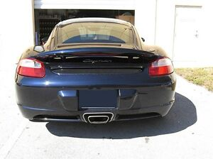 FOR PORSCHE CAYMAN & CAYMAN S PRIMERED Lighted Rear Spoiler Wing for 2006-2010