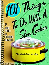 101 Things To Do With A Slow Cooker  Crockpot  Ninja  Easy Recipes Cookbook  New