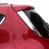 For Ford Kuga 2013-2018 Chrome Rear Trunk Window Spoiler Cover Trim Pillar Post