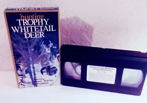 Hunting Trophy Whitetail Deer, VHS Gene Wensel, Dick Idol & Rob Hazelwood