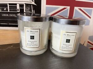 2x Jo Malone Pomegranate Noir Candle 200g (70% left on each) + FULL MATCHES