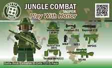 Army Jungle Sniper Weapons Pack (SKUP21)Designed for Brick Minifigures