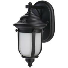 Hampton Bay LED Small Exterior Wall Light with Dusk to Dawn Control