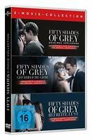 Fifty Shades of Grey - Teil: 1 - 3 [3 DVD's/NEU/OVP] Dakota Johnson, Jamie Dorna