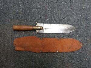 INDIAN WARS US ARMY MODEL 1880 HUNTING KNIFE-SPRINGFIELD ARMORY-SERIAL #4811