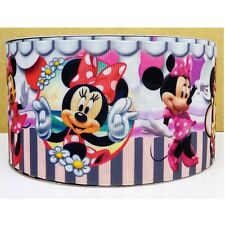 Cake Craft RIBBON Decoration Birthday Decorating- 50mm - MINNIE MOUSE - 1m