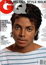 GQ Magazine 9/09 DECKER RYAN KWANTEN MICHAEL JACKSON